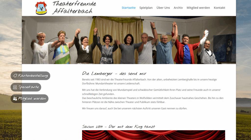 Theaterfreunde Affalterbach Startseite